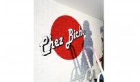 <p>Peintre du lettrage au bar PMU  &quot;Chez Bichon&quot;</p>
