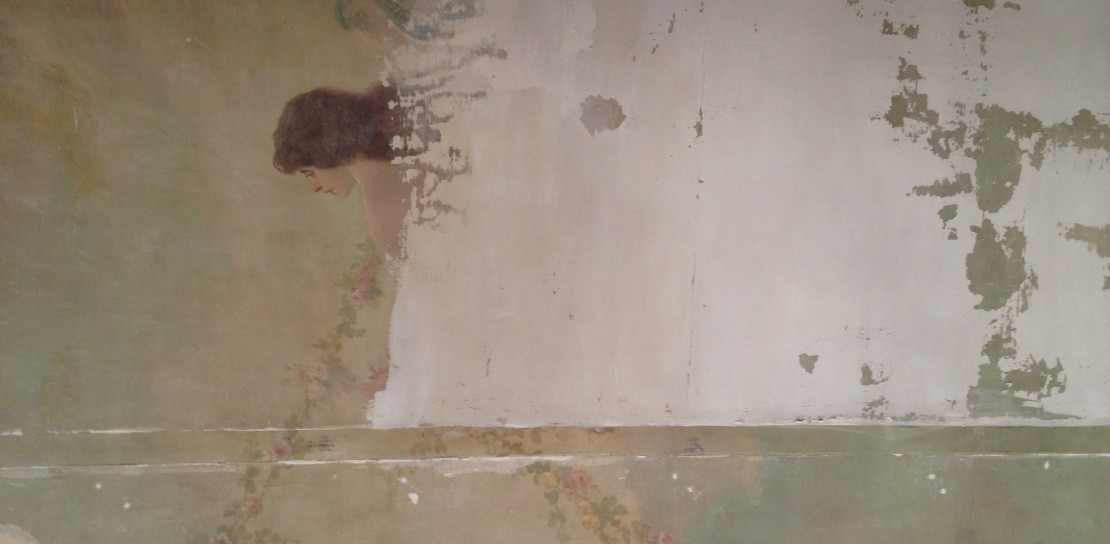 Terre d'Alizés - Restauration d'une toile peinte