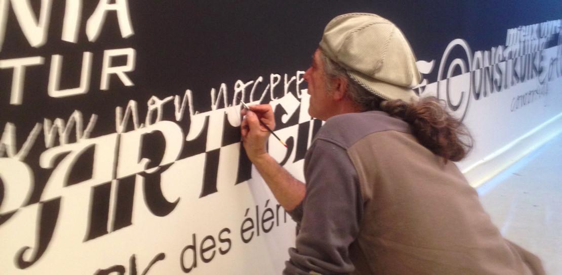 """Terre d'Alizés - """"Le Tableau Noir"""" peinture"""